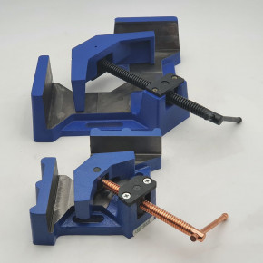 Angular vice for profiled welding serie KY