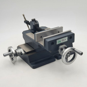 Vise on cross table