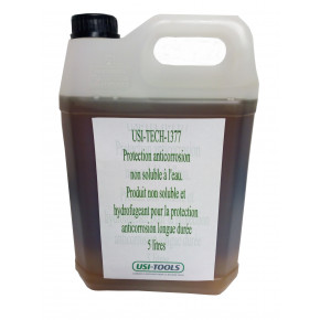 Waterproof anti-corrosion protection not water-soluble