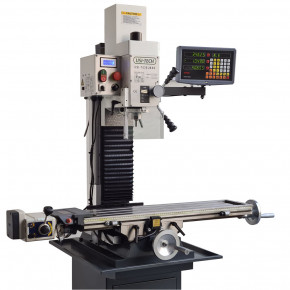 Drilling-milling machine with automatic advance and digital reader 220V