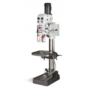 Strong column drilling machine with speed box