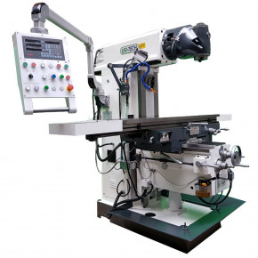 Universal milling machine - 3 axis servo motor drive