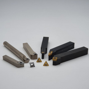 Internal and external turning tools