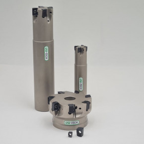 Face milling cutter 90° and 45°  with reversible insert