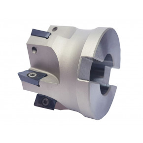 """90° face milling cutter for """"AP"""" type insert with 2 cutting edges"""