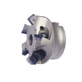 """45° face milling cutter for """"SE"""" type inserts with 4 cutting edges"""