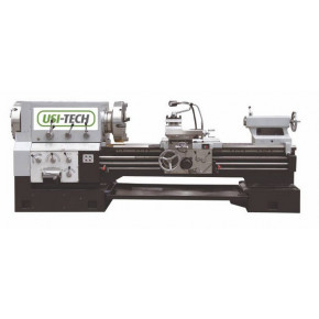 Conventional lathe with big spindle bore