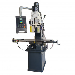 Drilling-milling machine with automatic advance and digital reader 400V