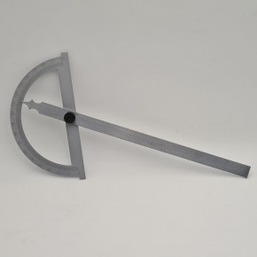Bevel and adjustable protractor
