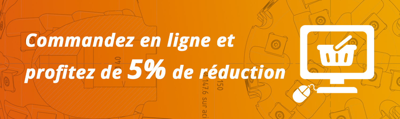 Réduction 5% site